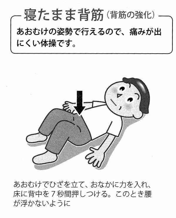 腰痛運動3